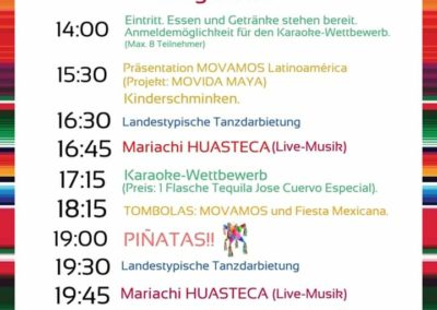 Fiesta mexicana am 14.09.2019 in Münster-Roxel